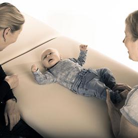 Baby kolik kan afhjælpes med zoneterapi