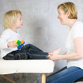 Zoneterapi kan hjælpe dig, der har et eksem barn.