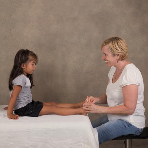 Zoneterapi mod mellemørebetændelse